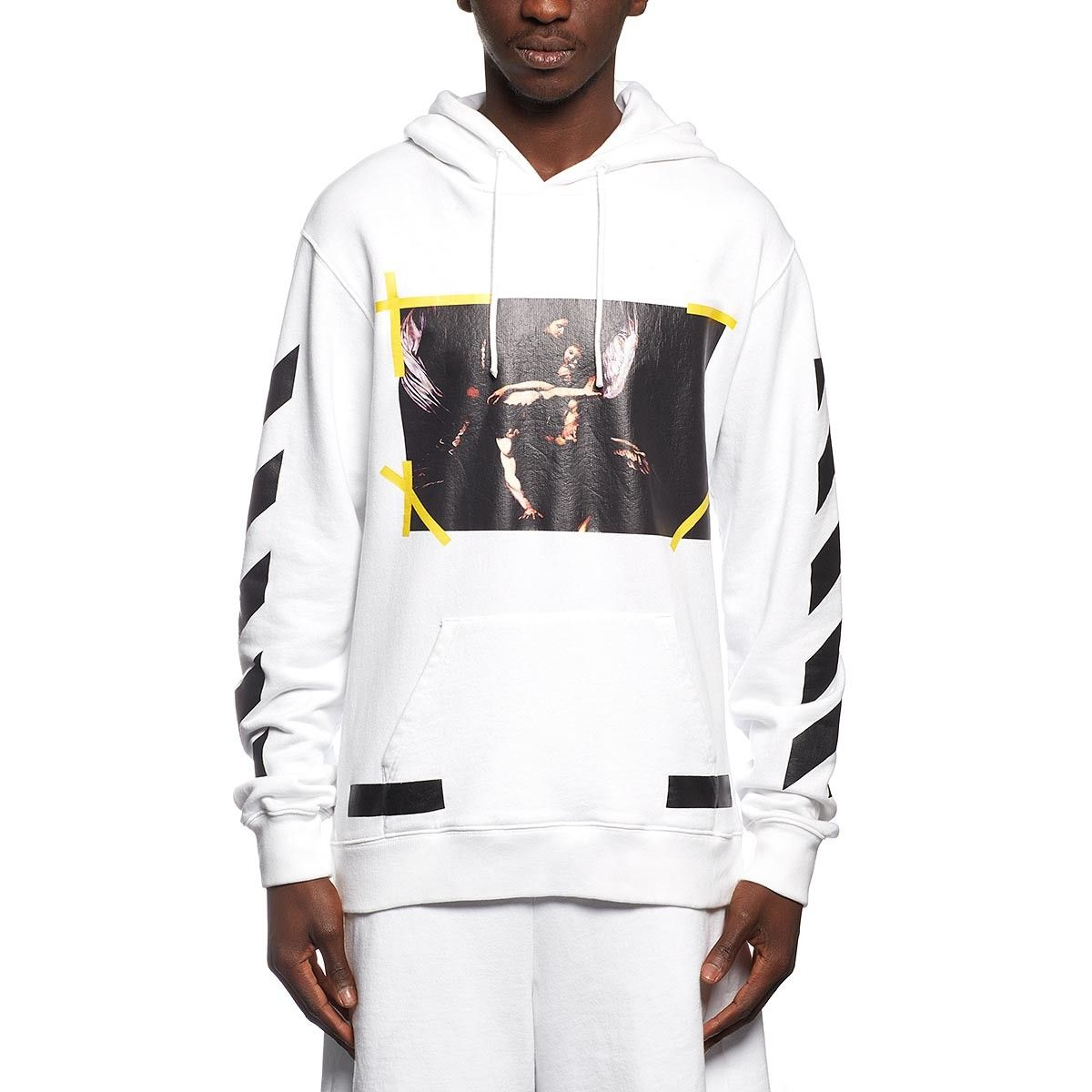 73415c8d1 7 Opere hoodie sweatshirt from the F/W2016-17 Off-White c/o Virgil Abloh  collection in white