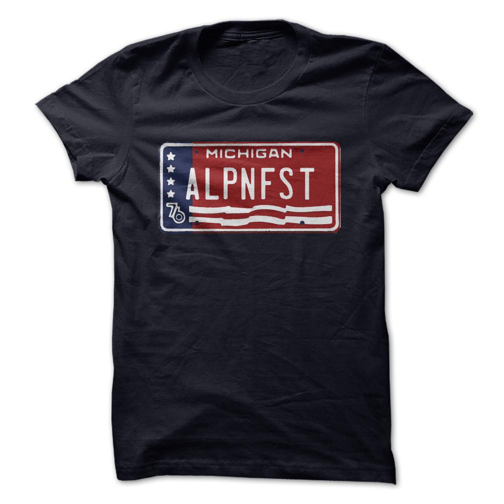 ALPNFST Vintage Michigan License Plate T Shirt, Hoodie, Sweatshirts - make your own shirt #shirt #tshirt