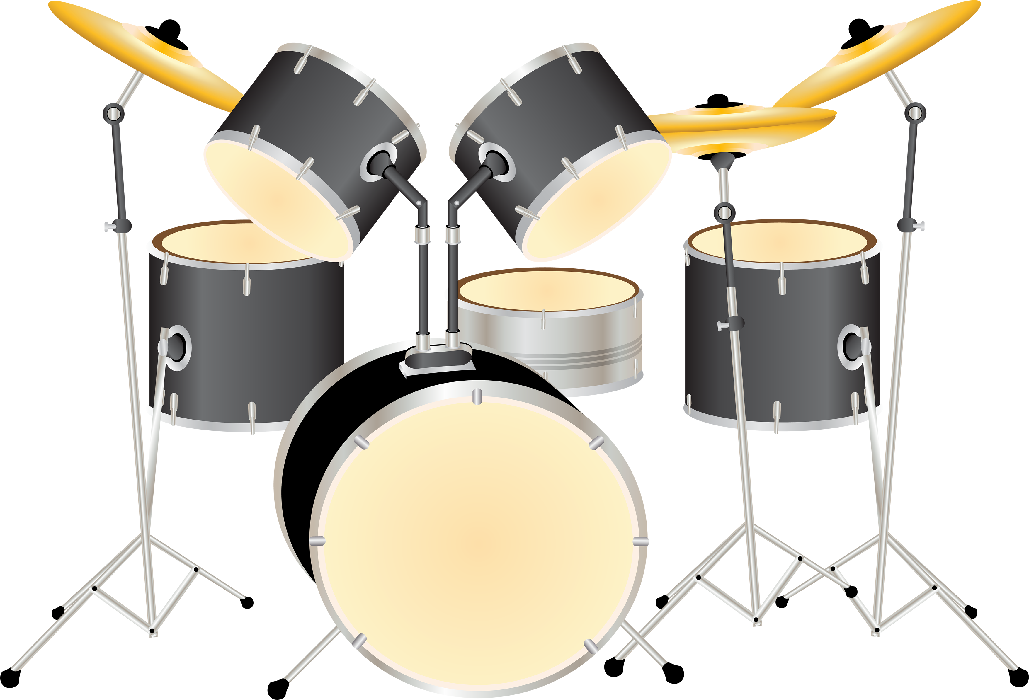 Drums Kit Png Image Drum Kits Drums Transparent