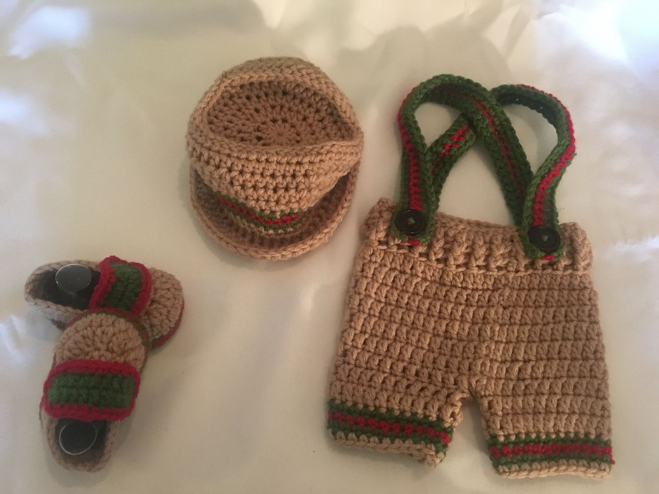 Gucci Inspired Infant Baby Boy Bucket Hat Suspender Shorts And