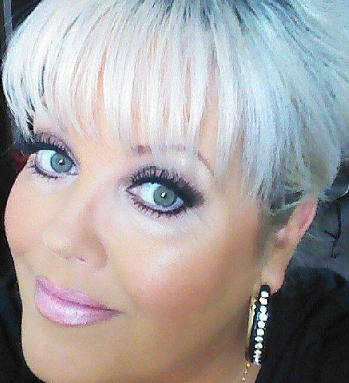 White Hair & Pink lips!