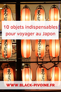10 objets indispensables pour voyager au Japon