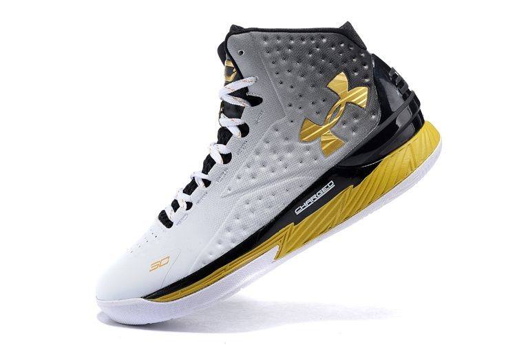pretty nice b039f 1122e Newest And Cheapest Under Armour Youth Curry One 1 Gradient Black White  Metallic MVP 2016 Basketball