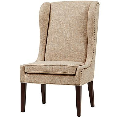 Jcp Taylor Wing Dining Chair Wingback Chair Beige