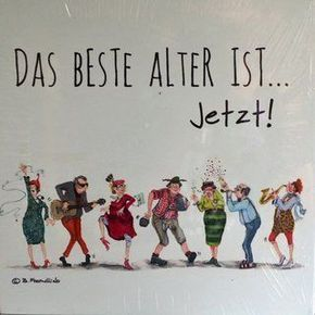 HOLZBILD von Barbara Freundlieb - DAS BESTE ALTER IST JETZT #abschiedsgeschenkerzieherin