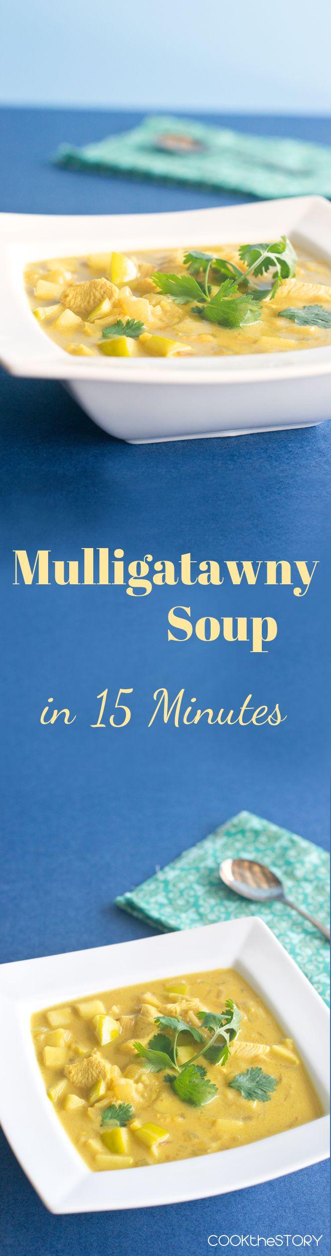 Mulligatawny Soup in 15 Minutes #mulligatawnysoup