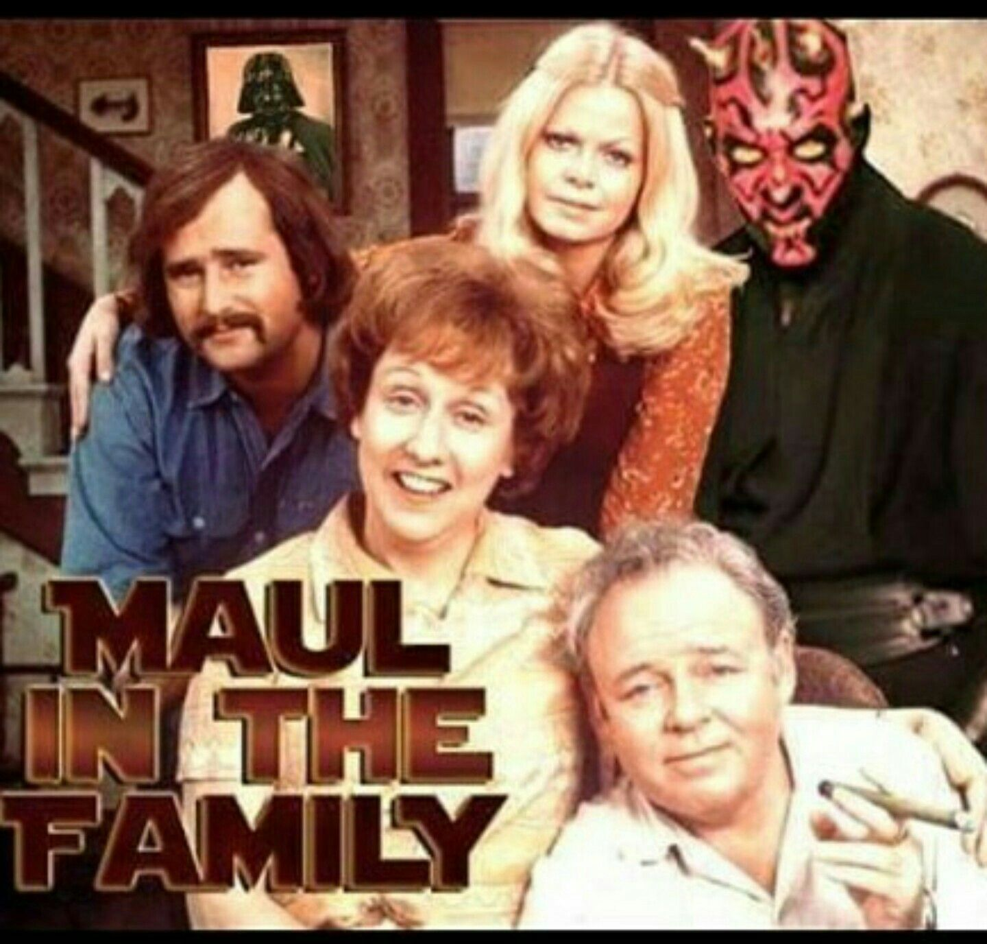 Star wars maul in the family