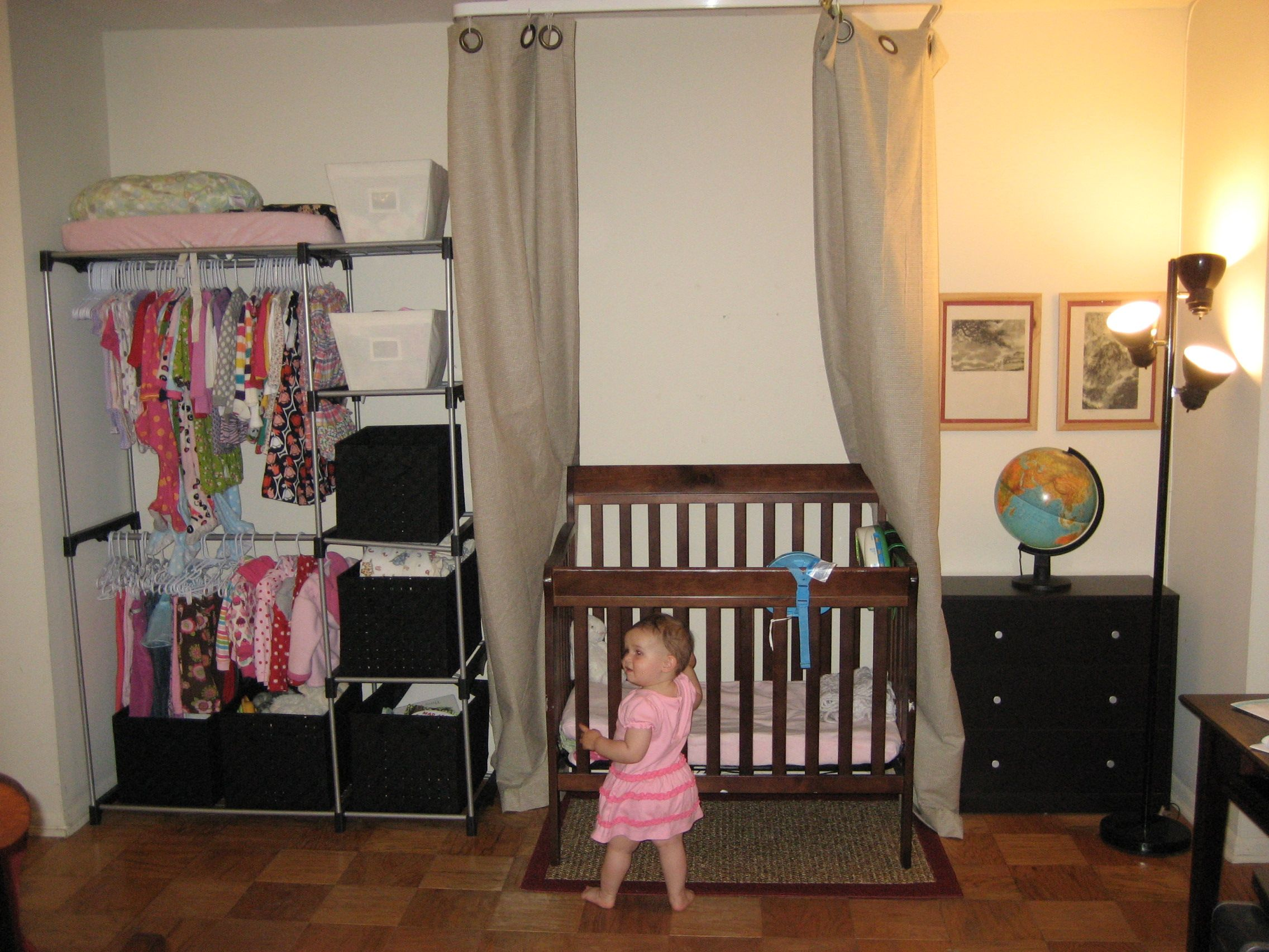 Living In A One Bedroom Apt With Baby Will Need To Do Something Like This Until House