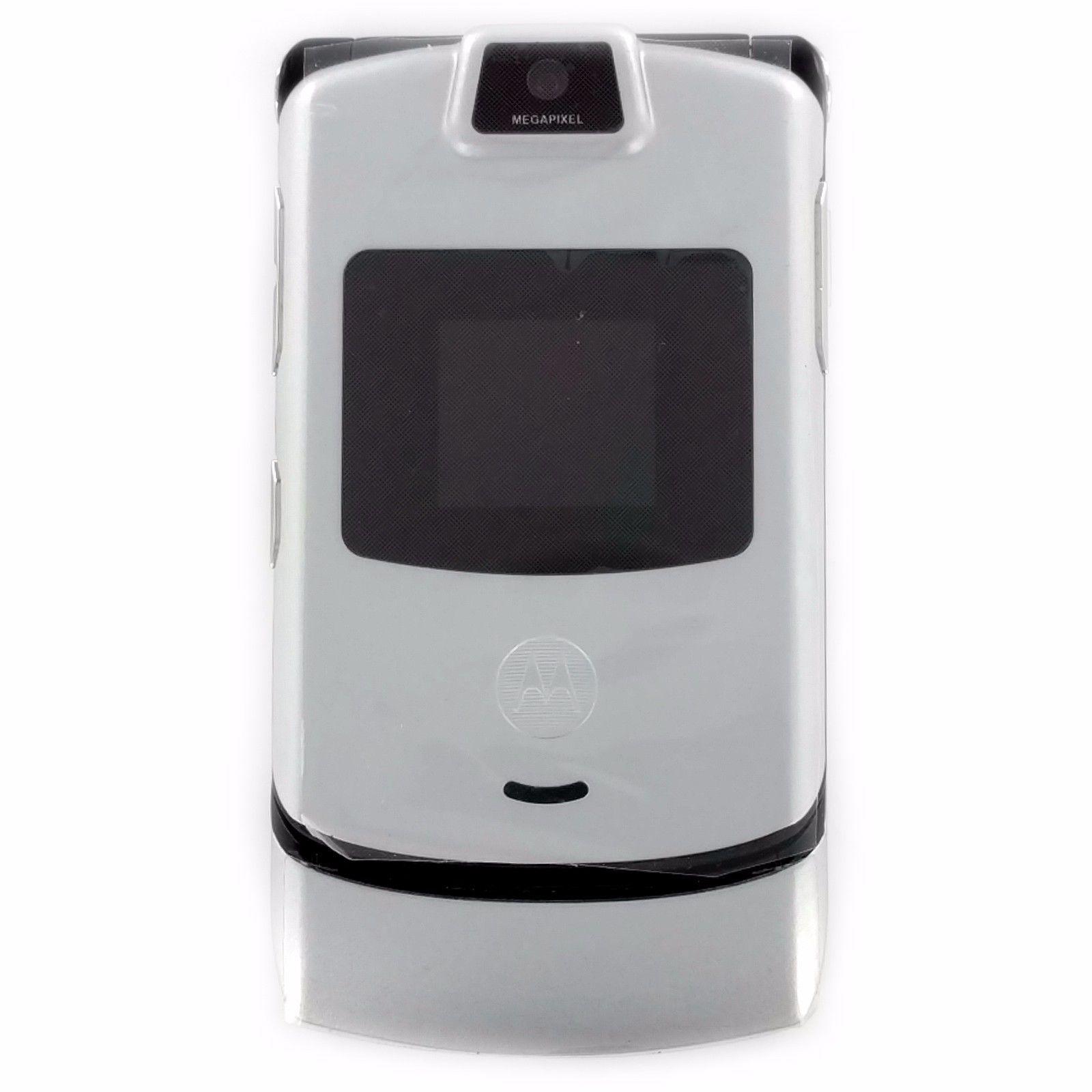Vibrate Yes Ringer Id Yes Processor Battery 780 Mah Liion Speaker Phone Type Half Duplex Phone Book Capacity 10 Flip Cell Phones Phone New Motorola Razr