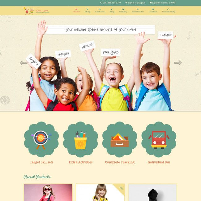 Best WordPress Themes for Kids - 2014 Edition | Best WordPress ...