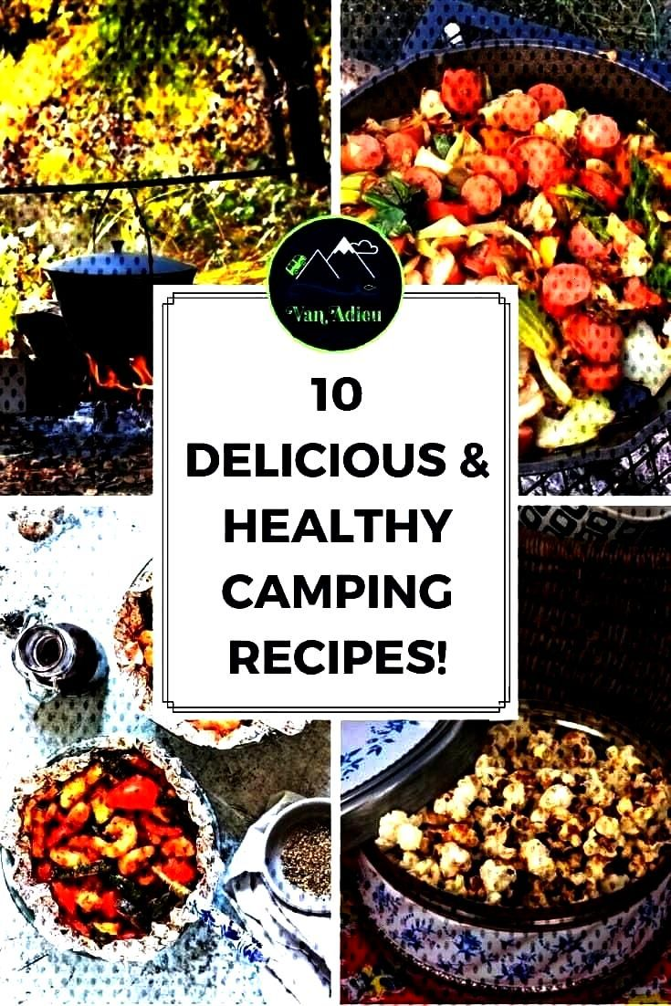 Easy Healthy Camp Meals! From no cook to dutch oven to grilling out, these recipes will show yoand