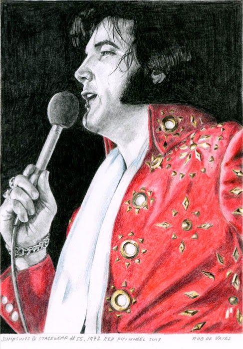 Elvis Art by Rob De Vries