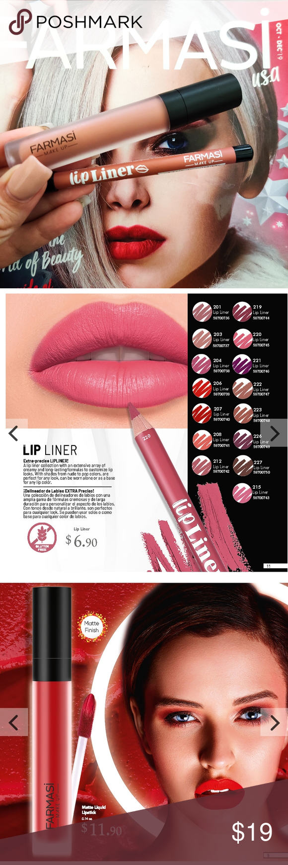 Photo of Bundle matte liquid lipstick and lip linner nude Bundle matte liquid lipstick an…