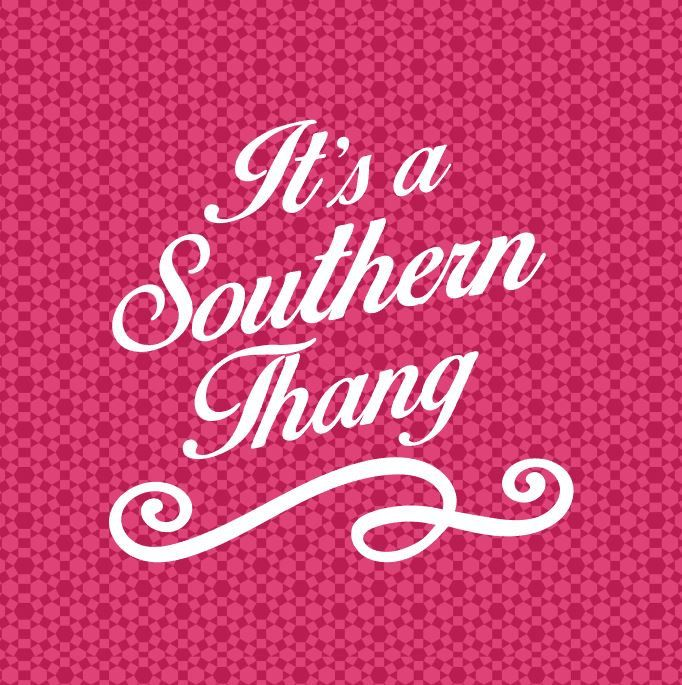 It's a Southern Thang Vinyl Decal Southern Sassy Quotes Sayings Yeti Cup Decal Car Window Sticker by VinylVariationsTexas on Etsy