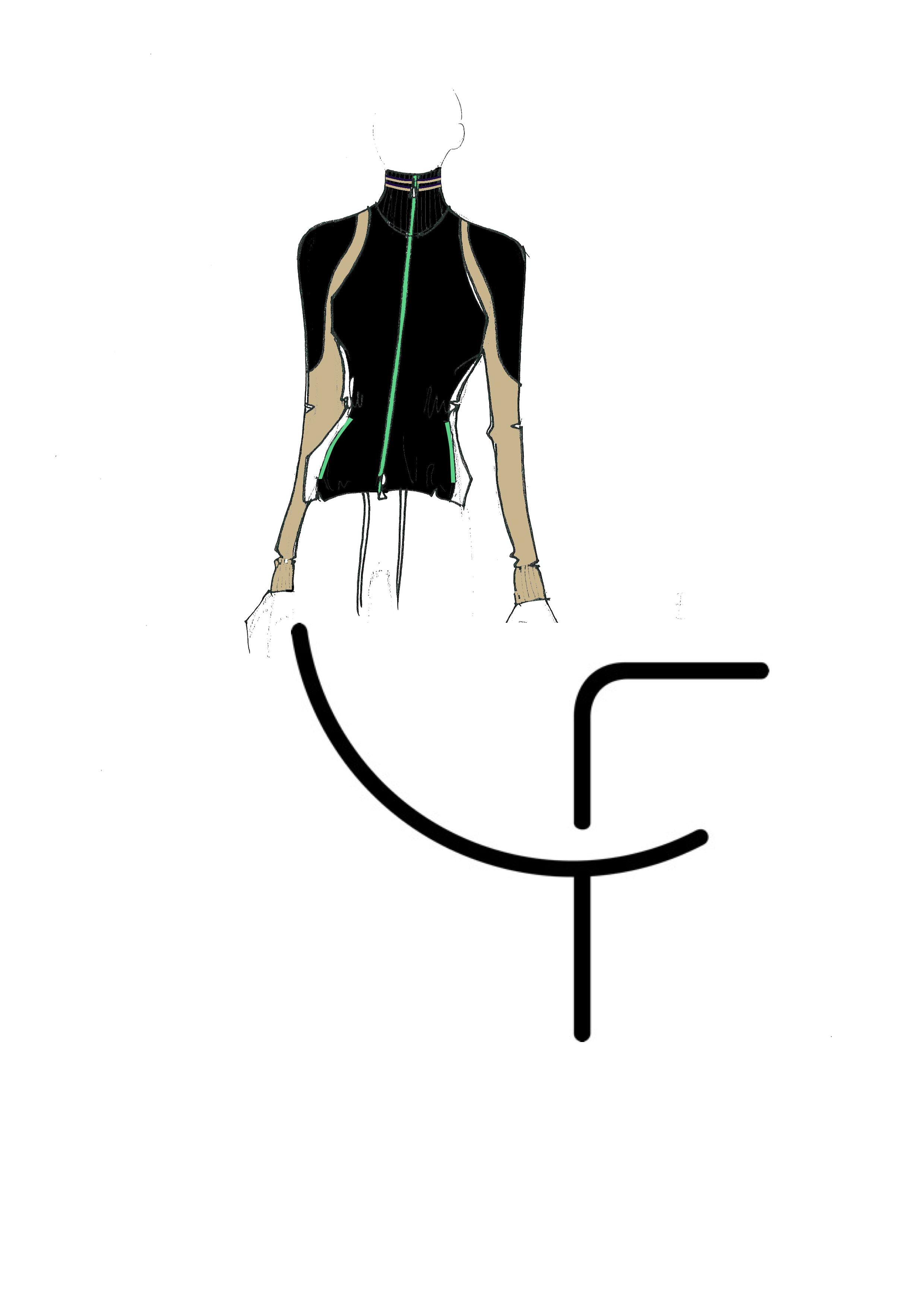 Dany Fay Golf Couture | Sketches Collection SS17 - Part I  #danyfay #sketches #fashiondesign #collectionss17 #ss17 #Gofhose #Golfmode #Golfjacke #Golfkleider #Golfbekleidung #dame #golfer #schweiz #Switzerland #Zurich #Germany #madeinItaly #zurichsee #golfetiquette #golfstyle #jaanteshowroom #golfcouture #designerclothing #modafeminina #golf #jacket #garments