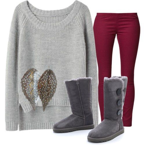 Fall cute | Cute winter outfits, Fall fashion trends, Uggs