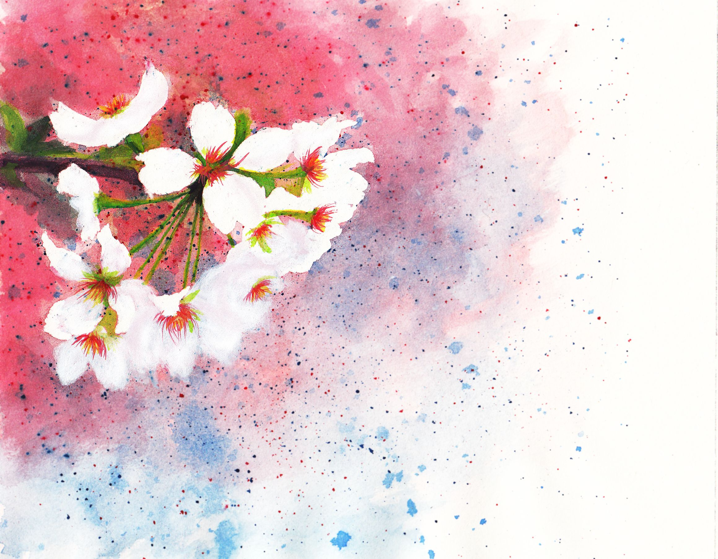 Watercolor book covers - With The Flower Background You Can Use It On Your Facebook Tumblr Tweeter Instagram Print It On Cups Bags Shirts Make A Book Cover And