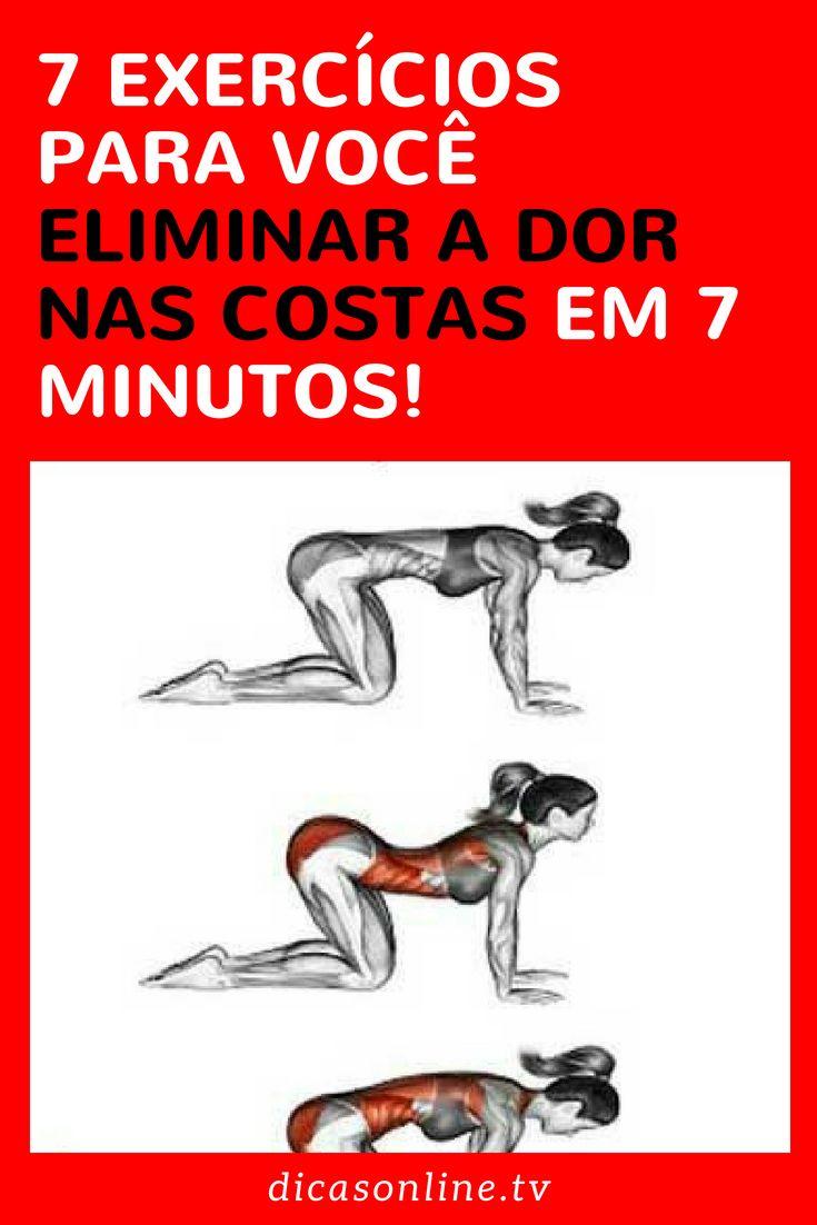 7 Exercicios Para Voce Eliminar A Dor Nas Costas Em 7 Minutos