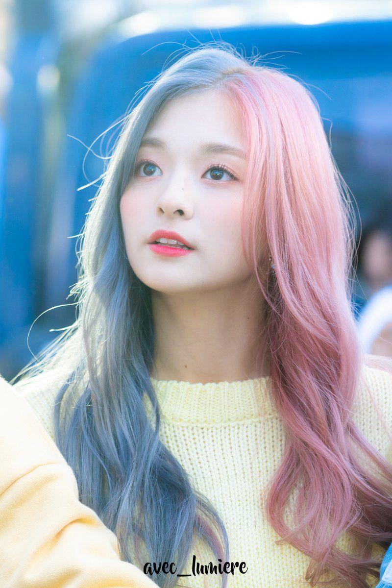 Pin By Xitlali On Fromis9 Kpop Hair Color Girl Hair Colors Kpop Hair