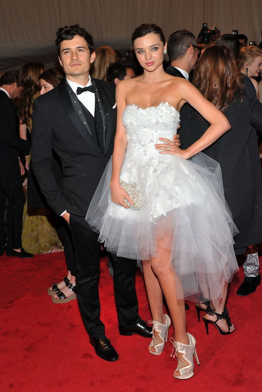 Miranda Kerr Orlando Bloom At The Met Gala This Would Have Been A Great Wedding Dress