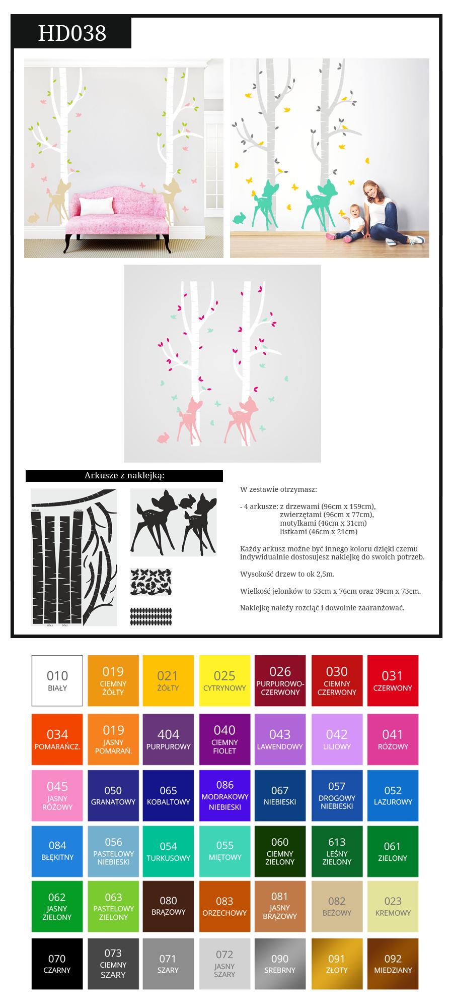 Naklejka Scienna Drzewo Jelonki Na Sciane Brzozy 4926776229 Oficjalne Archiwum Allegro Map Map Screenshot
