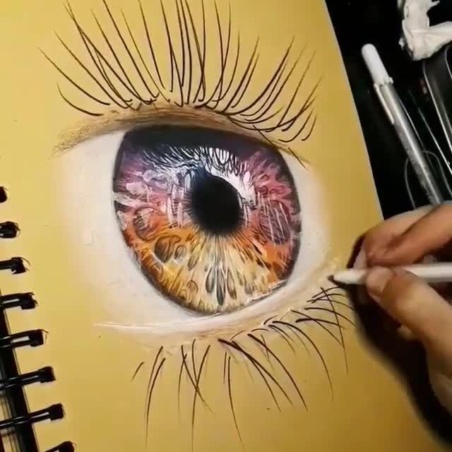 Drawing Tips eye drawing