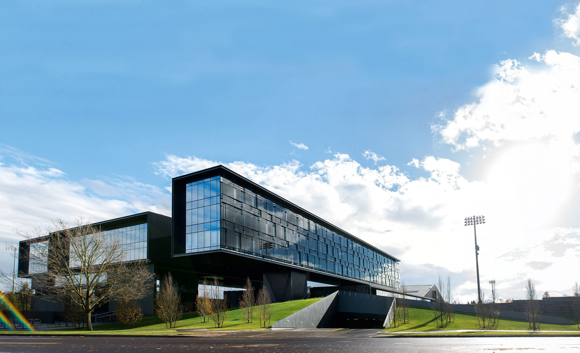 Gallery Of University Of Oregon Hatfield Dowlin Complex Zgf Architects 3 University Architecture Architecture Details University Of Oregon