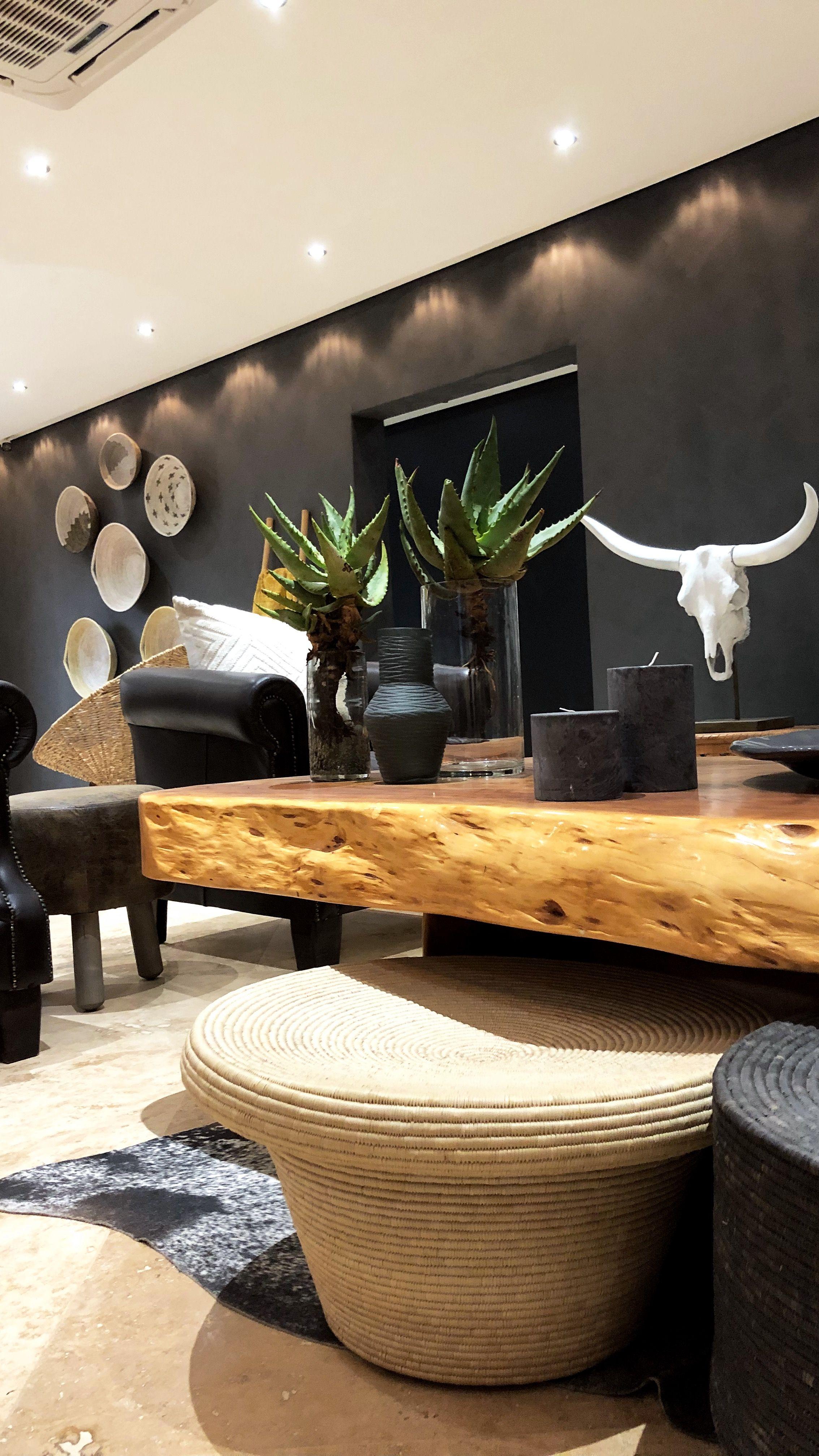 AuBergewohnlich Raum, Wandgestaltung, Dekorieren, Wohnzimmer, Wohnen, Afrikanische  Wohndekoration, Ranch Dekor,