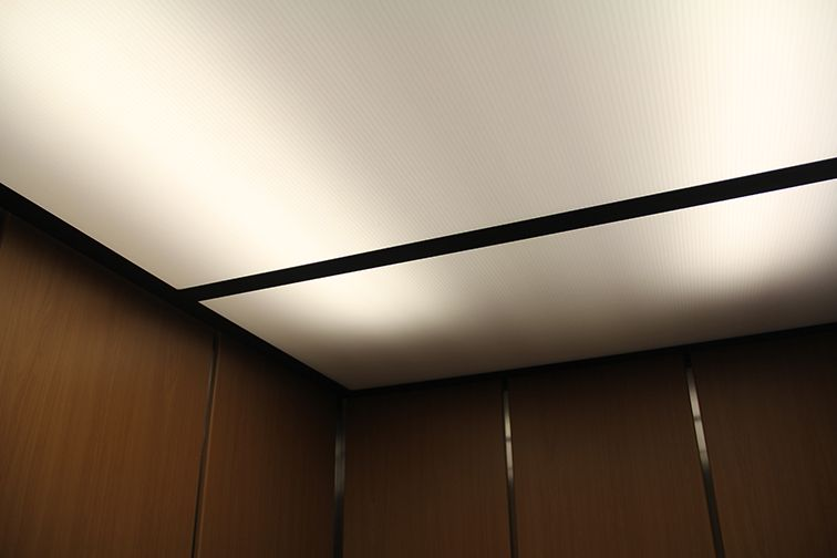 Ascend Ceilings And Lights Elevator Interior Ceiling Lights