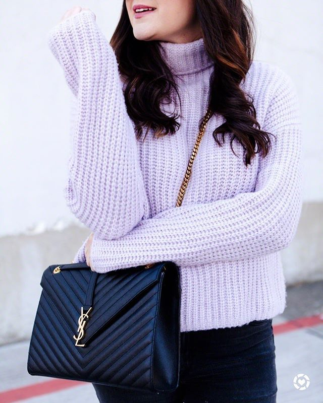 Lilac love on the blog today  this @rebeccataylornyc sweater is from last winter but Ive found some  look-alike for you! Follow me on th LTK app or follow this link to see all the options! http://liketk.it/2uDZJ #liketkit @liketoknow.it #LTKunder100 #kendieveryday