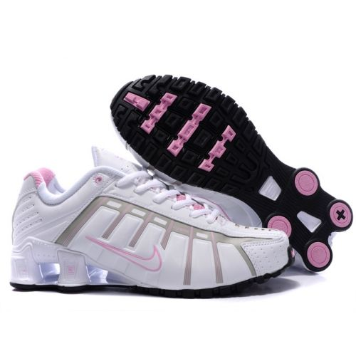 Nike Shox NZ 3 O\'Leven White Black Pink Women Shoes $79.59