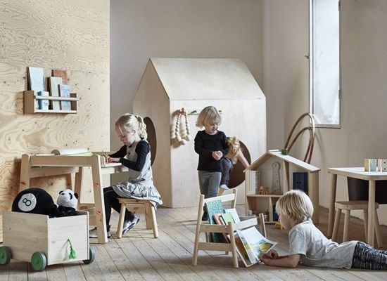 Flisat muebles de madera para ni os de ikea mamidecora for Muebles habitacion ninos