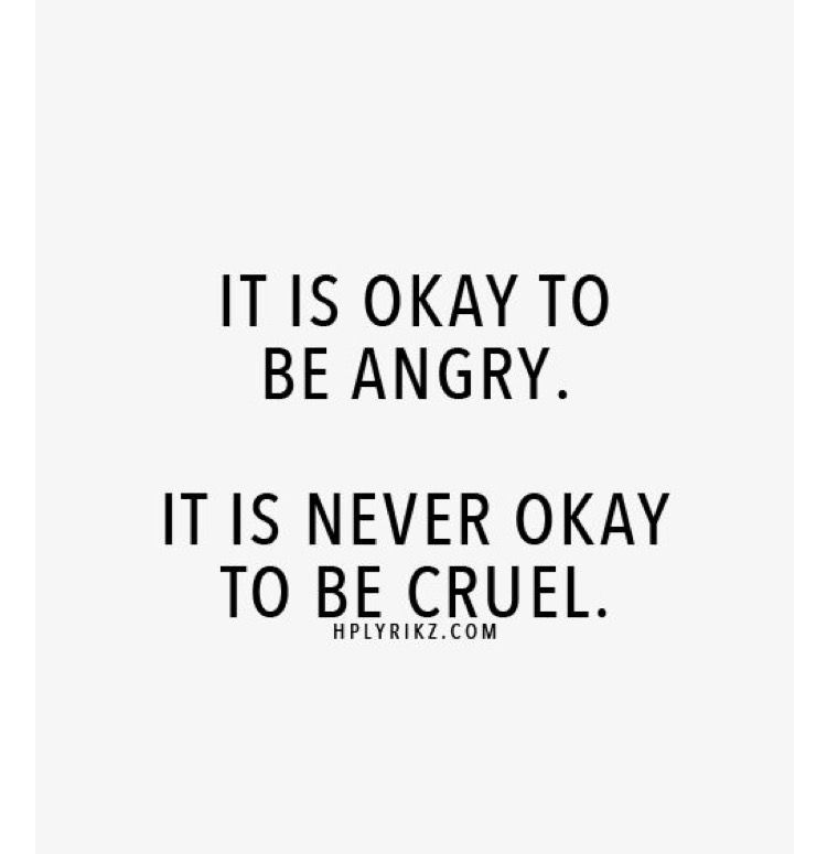 Hurtful words: sincere or just anger?