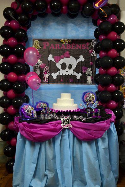Decoracao De Festa Monster High Decoracao Decoration