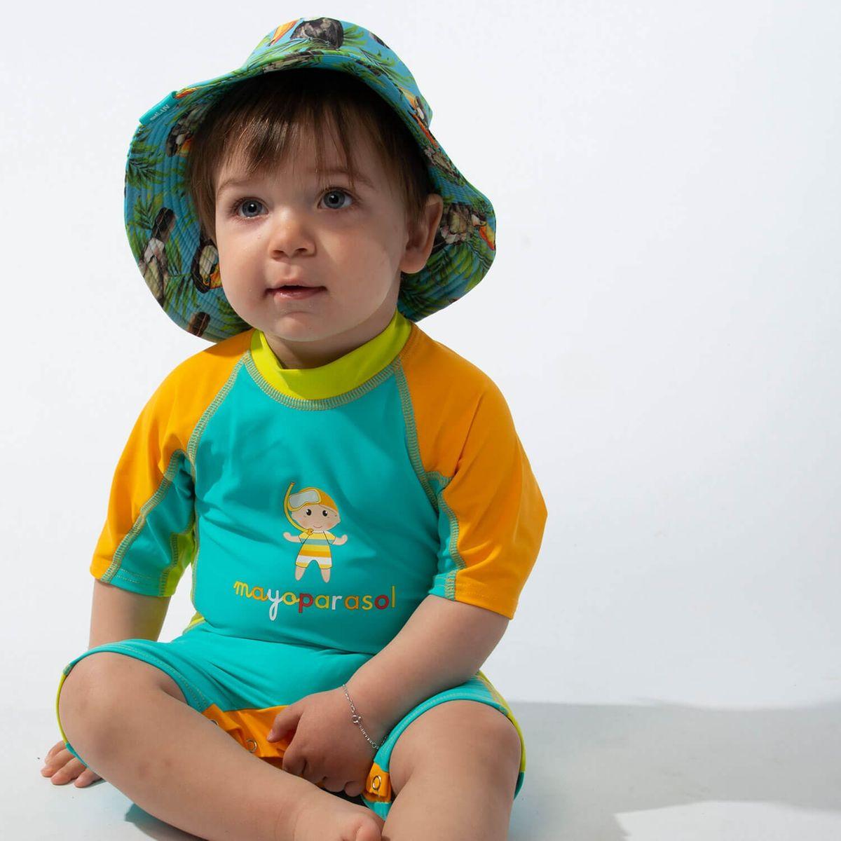 Cara/ïbi Combinaison Maillot Anti UV Enfant MayoParasol