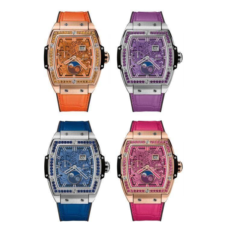 Hublot Spirit of Big Bang Moonphase King Gold watches