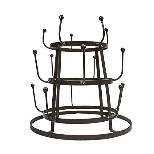 Sorbus Mug Holder Tree Organizer Drying Rack Stand Home