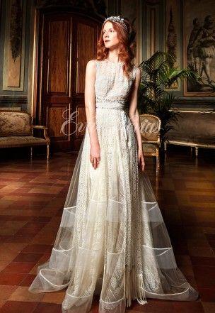 vestido de novia modelo cipres. yolancris colección 2017 en eva