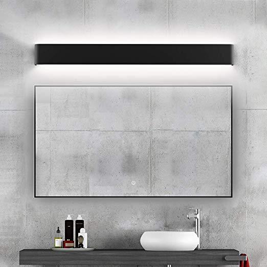 Amazon Com Ralbay Modern Bathroom Vanity Light 30w Make Up Mirror Modern Bathroom Vanity Lighting Black Bathroom Light Fixtures Modern Bathroom Light Fixtures
