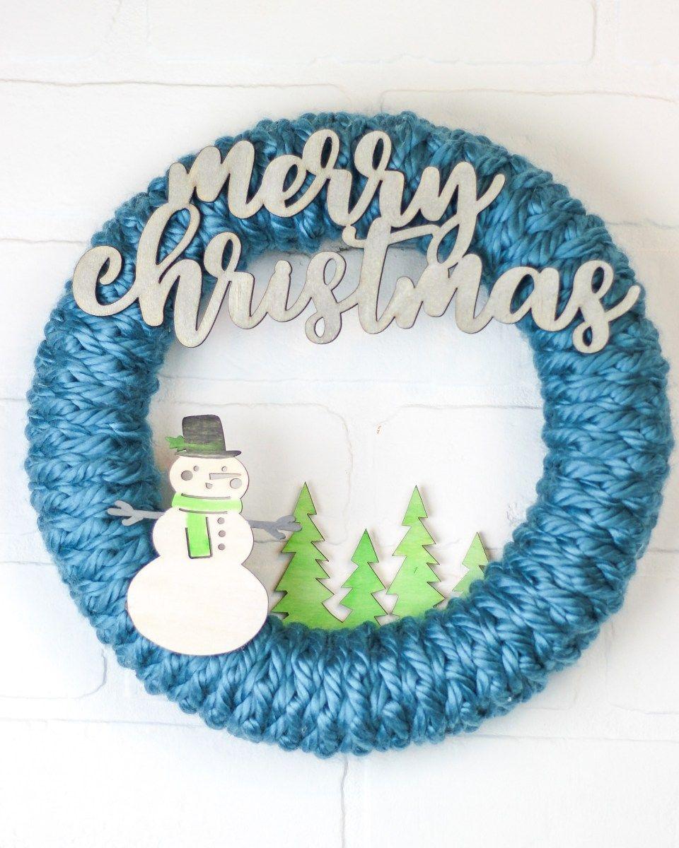 Photo of Crochet Wreath: For Beginners – Winding Road Crochet