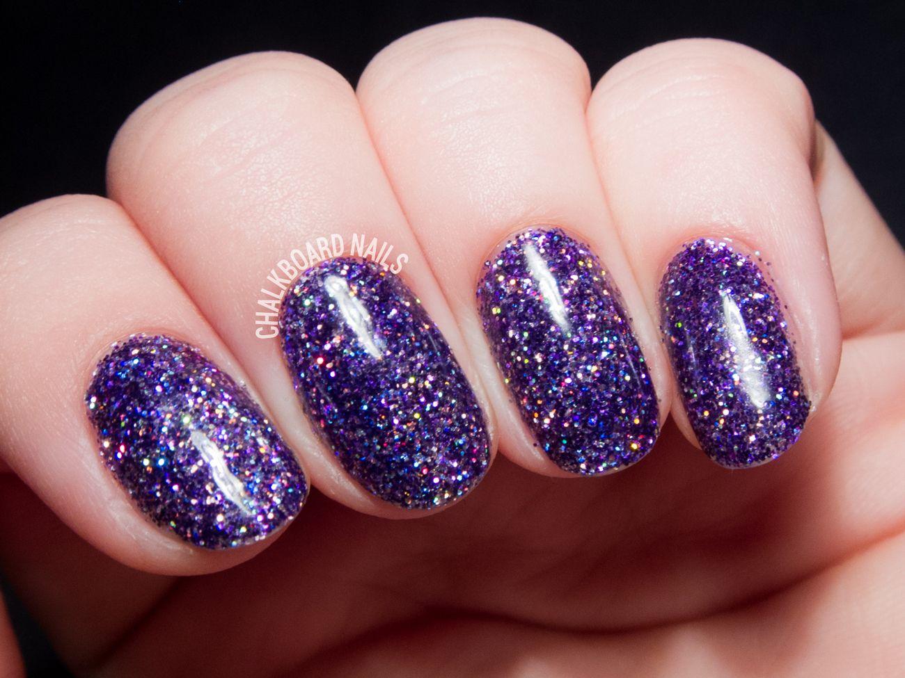 How To: Party Like a Rockstar (In Purple Glitter Gels) | Art ...