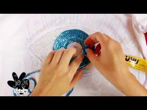Técnica De Bordado De Rosas Con Lentejuela Y Chaquira Youtube Como Bordar Lentejuelas Parches Bordados Bordados Con Lentejuelas