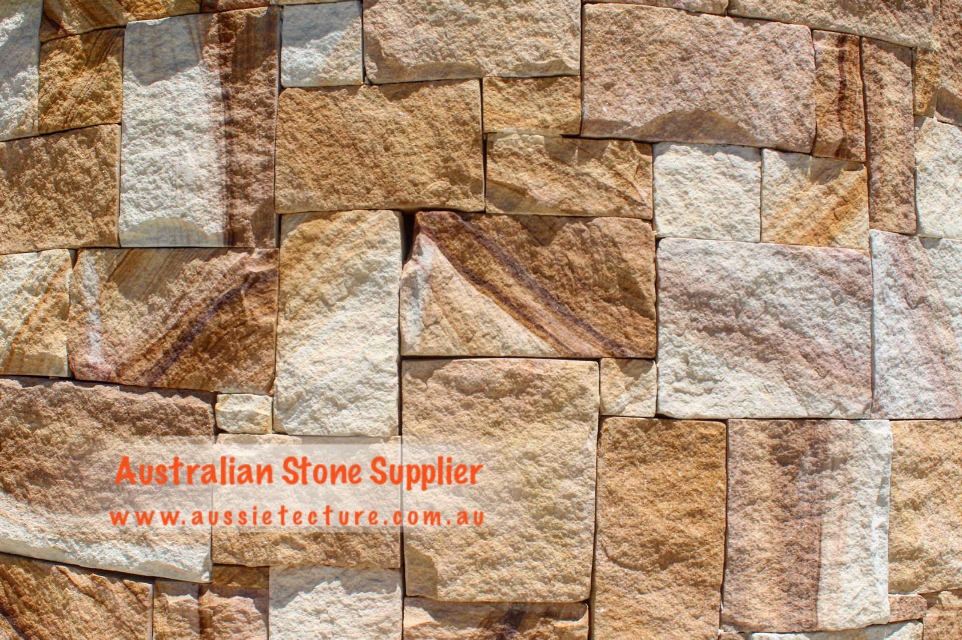 Australian Sandstone Colonial Walling Made Up Of Natural Sandstone Cladding Available In 4 Colors Sandst Natural Stone Cladding Sandstone Wall Stone Supplier