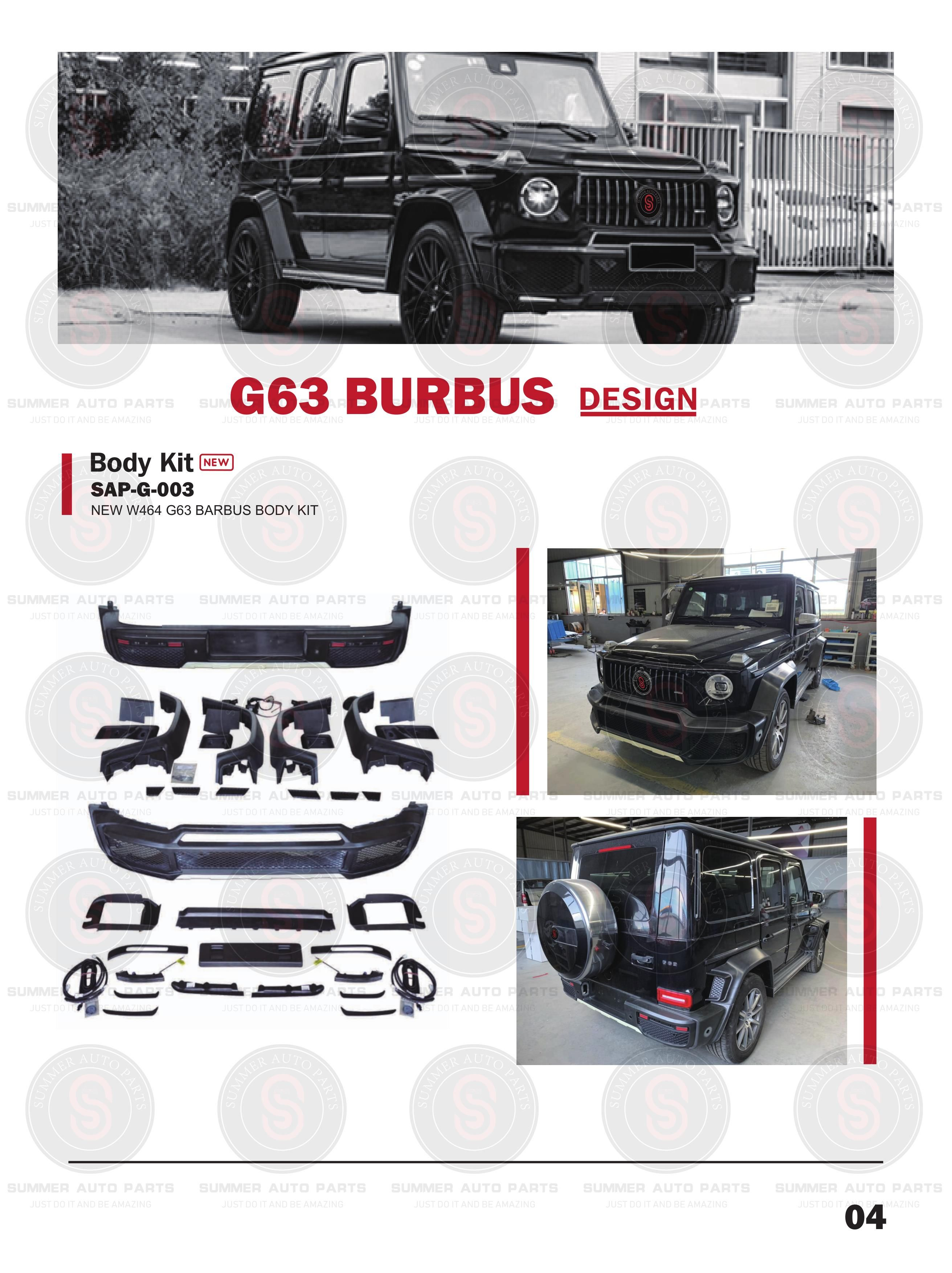 G Class Catalogue Summer Auto Parts In 2020