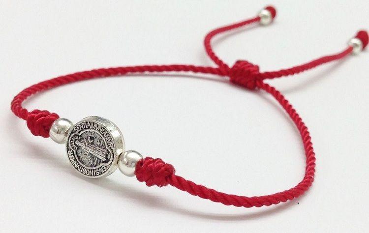 Good Luck Charm Red Glass Evil Eye Baby Red String Bracelet