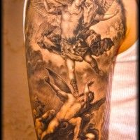 Angel and Demons Tattoo