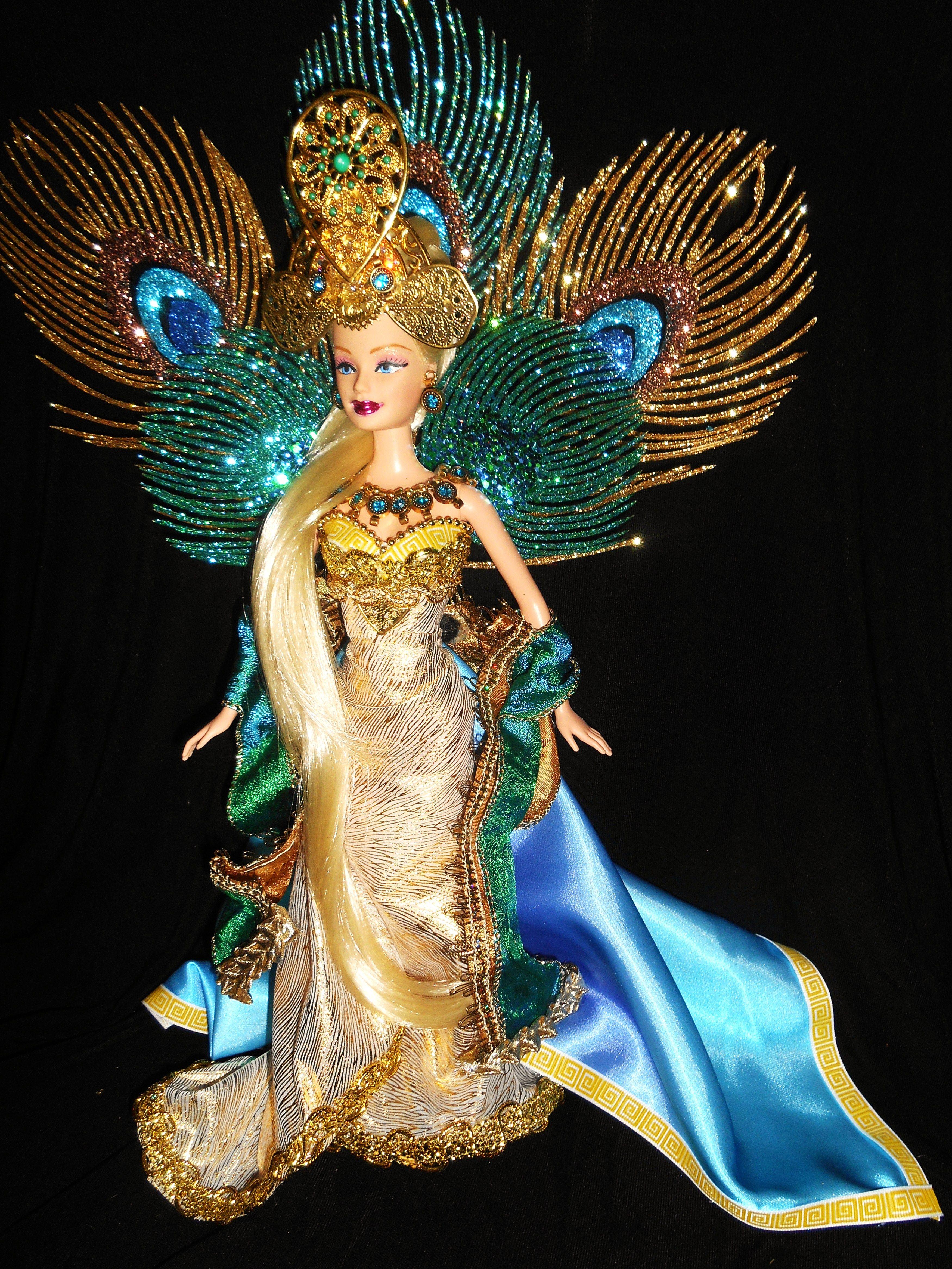 Queen Hera Greek Goddess Barbie Doll
