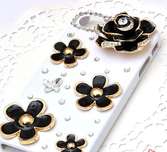IPhone Case Bling Luxurious Gem Diamond Case by freefashion2013