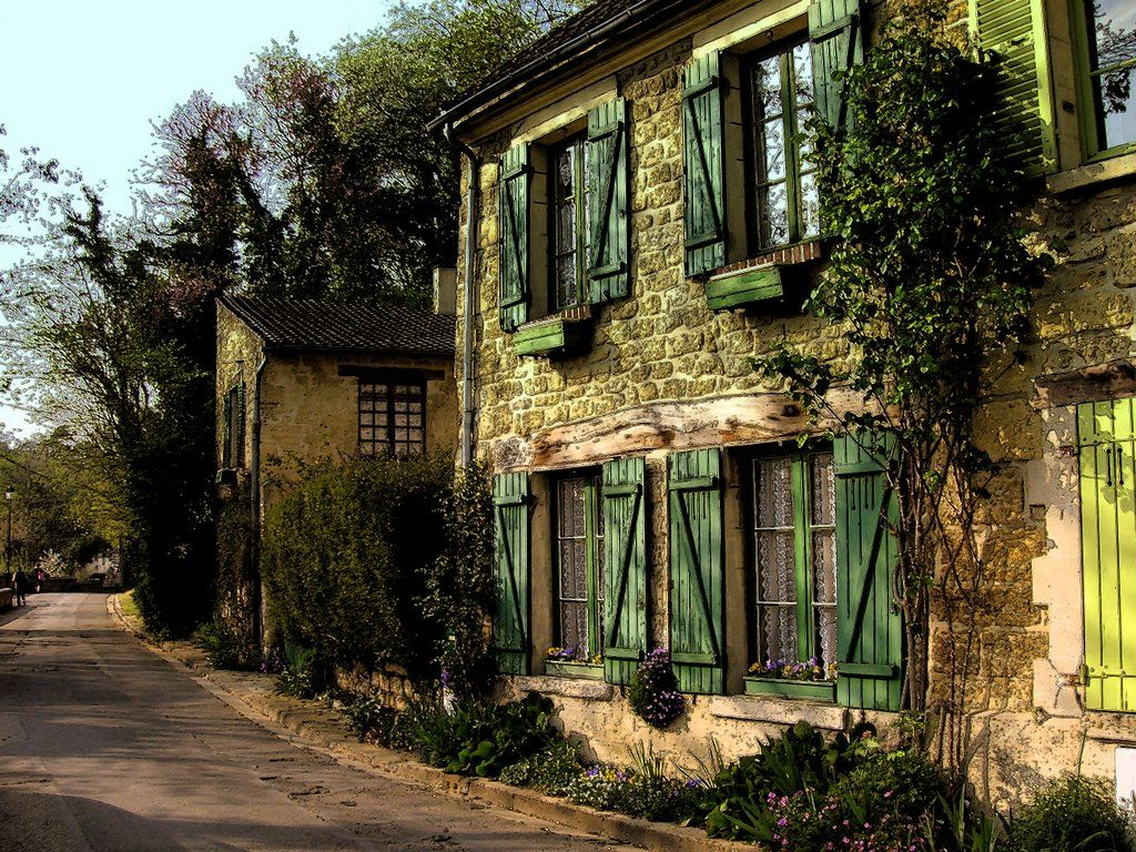 Rue Daubigny Auvers Sur Oise My Tribute To A Great Artist