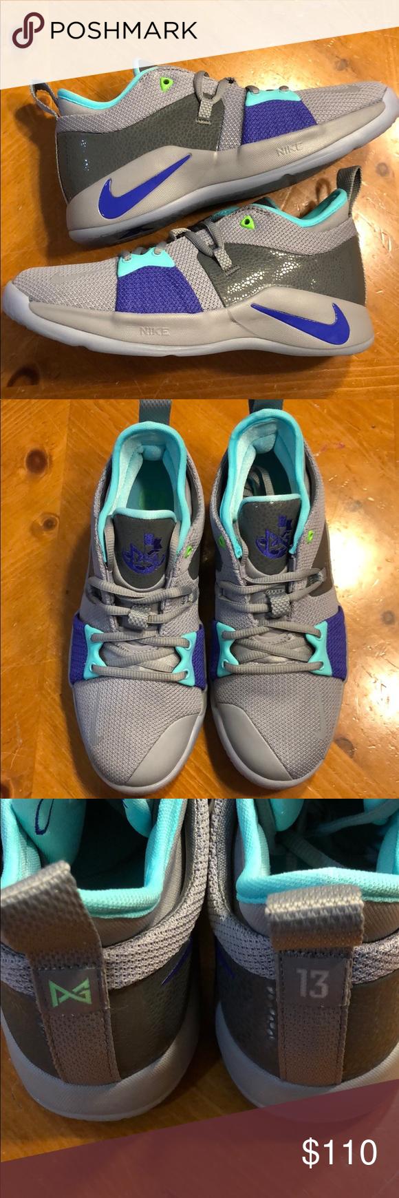 Nike PG 2 Safari GS Size 5.5Y NEW